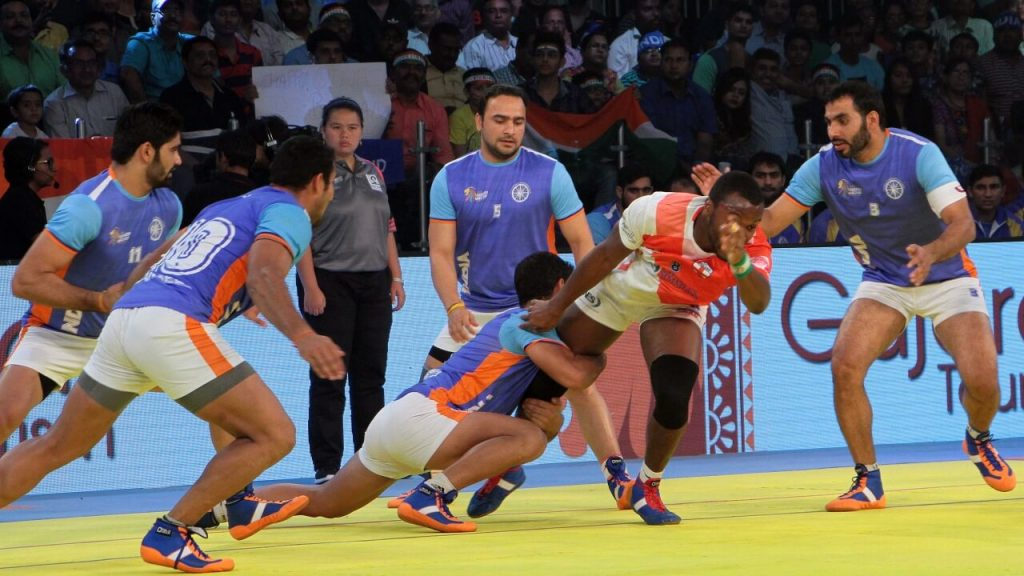 Indian Kabaddi game