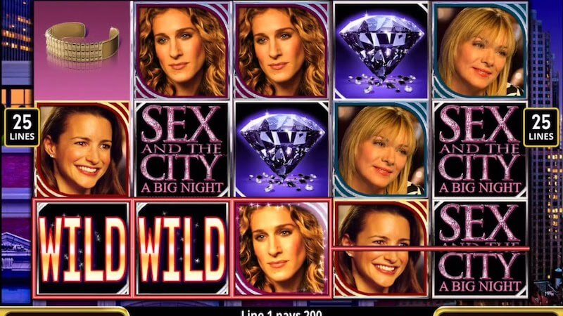 sex and the city slot