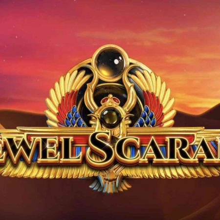 Double Speed on Jewel Scarabs at Rizk Casino